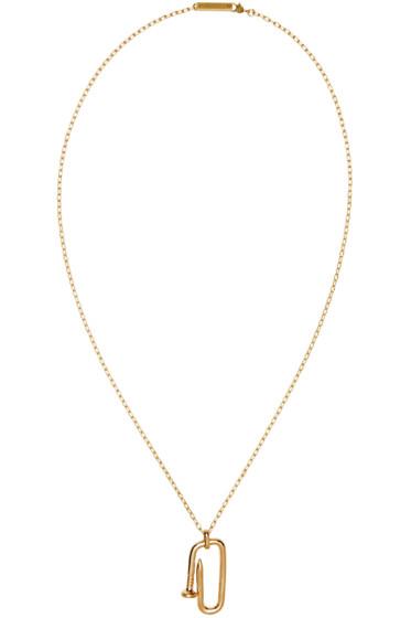 Ambush - Gold Kugi Necklace