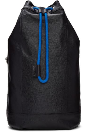 Diesel - Black L-Signatured Backpack
