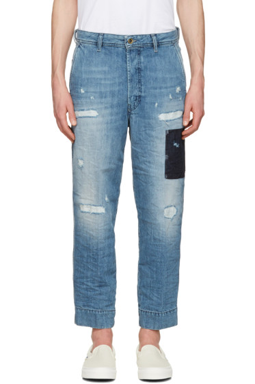 Diesel - Blue Chino Jeans