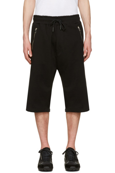 Diesel - Black P-Mike Shorts
