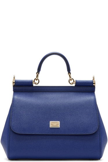 Dolce & Gabbana - Blue Medium Miss Sicily Bag