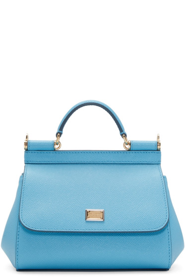 Dolce & Gabbana - Blue Mini Miss Sicily Bag