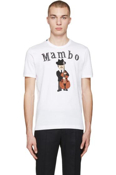 Dolce & Gabbana - White 'Mambo' T-Shirt