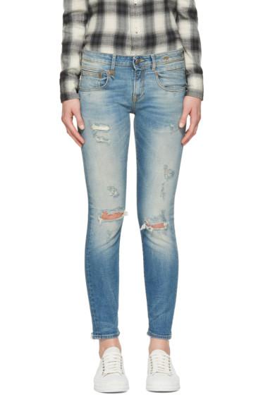 R13 - Blue Boy Skinny Jeans