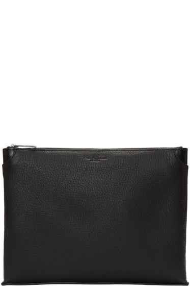 Rag & Bone - Black Leather Medium Pouch