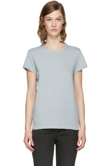 Rag & Bone - Blue 'The Tee' T-Shirt