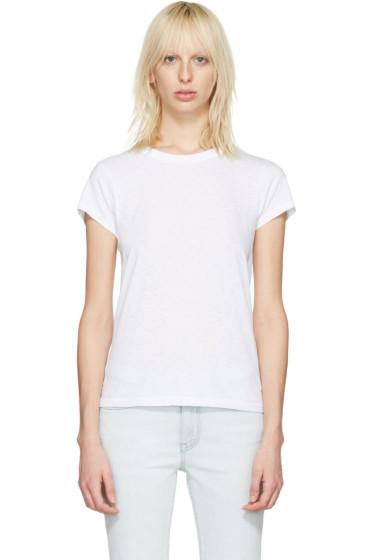 Rag & Bone - White The Tee T-Shirt