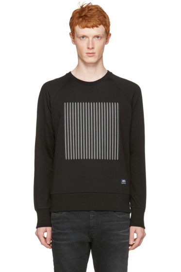 Rag & Bone - Black Rowing Stripe Pullover