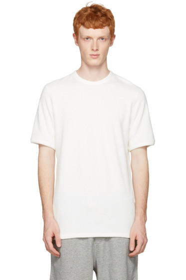 Rag & Bone - White Toweling T-Shirt