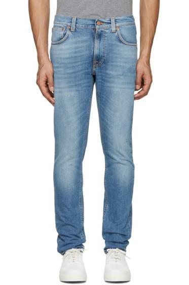 Nudie Jeans - Indigo Lean Dean Jeans
