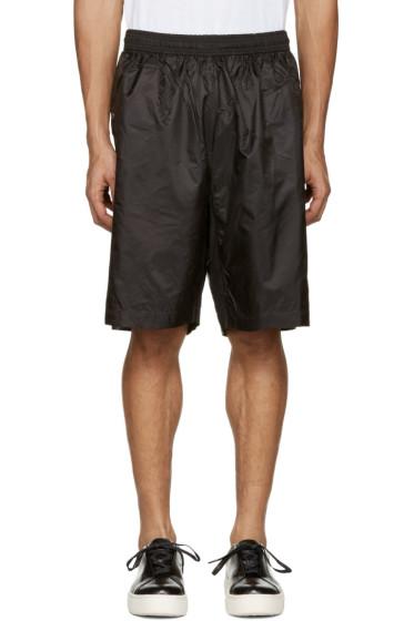 Diesel Black Gold - Black Nylon Shorts