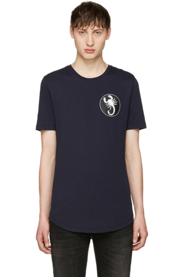 Diesel Black Gold - Navy Scorpio T-Shirt