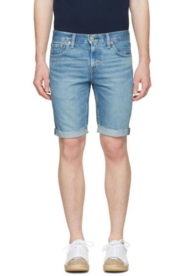 Levi's - Blue Denim 511 Shorts
