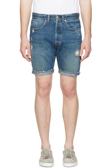 Levi's - Indigo Denim 501 CT Shorts