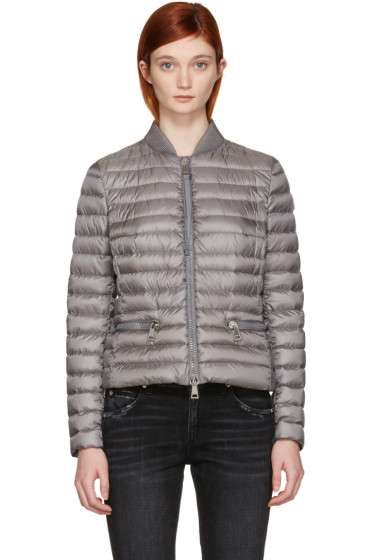Moncler - Grey Down Blen Jacket