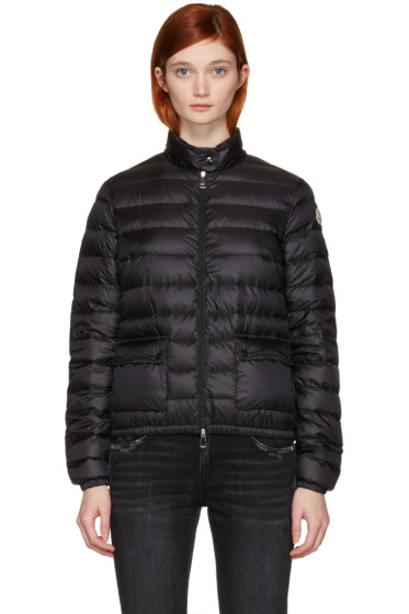 Moncler - Black Down Lans Jacket