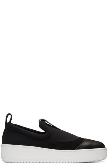 McQ Alexander Mcqueen - Black Neoprene Neil Sneakers