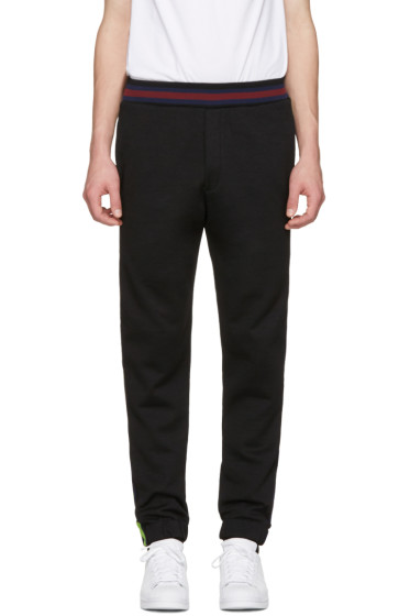 McQ Alexander Mcqueen - Black Cycle Lounge Pants