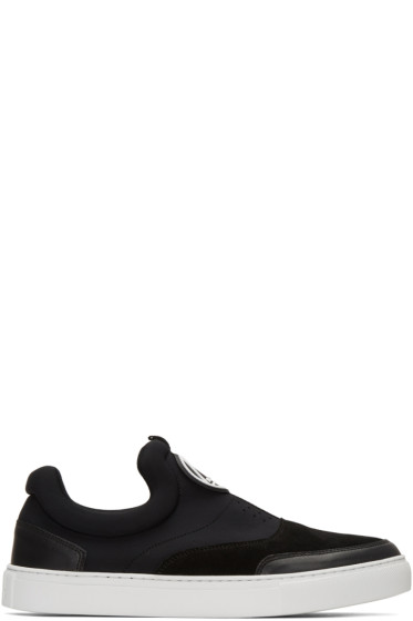 McQ Alexander Mcqueen - Black Youko Slip-On Sneakers