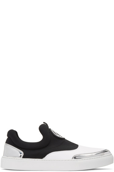 McQ Alexander Mcqueen - White Youko Slip-On Sneakers