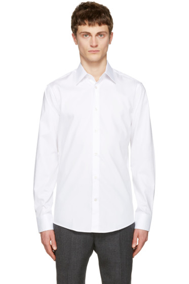 Tiger of Sweden - White Farrell Shirt