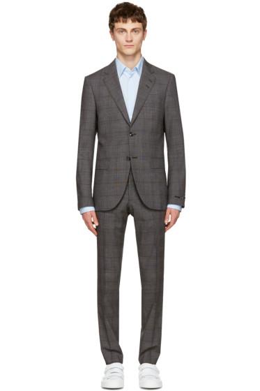 Tiger of Sweden - Grey Check Gekko Suit