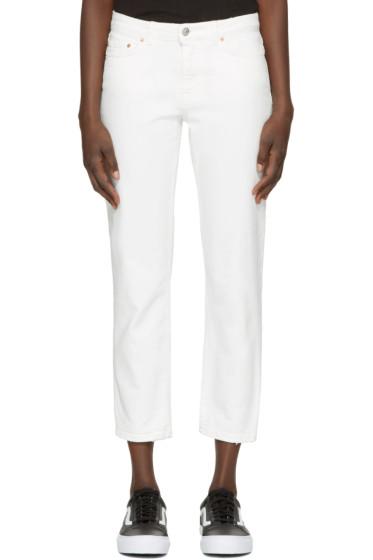 Acne Studios - White Row Jeans