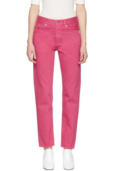 Acne Studios - Pink Boy Jeans