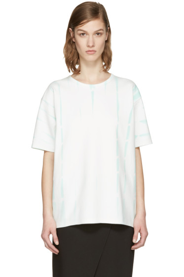 Acne Studios - Green Tie-Dye Peace T-Shirt