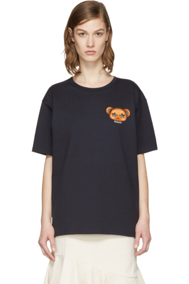 Acne Studios - Navy Niagara Bear T-Shirt