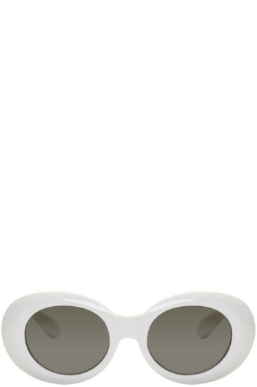 Acne Studios - White Mustang Sunglasses