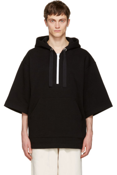 Acne Studios - Black Florida Short Hoodie