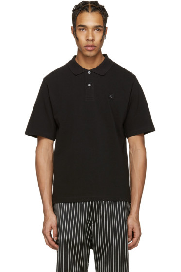 Acne Studios - Black Falco Face Polo