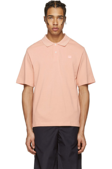Acne Studios - Pink Falco Face Polo