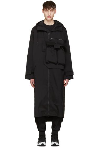 Y-3 - Black M Min Nln Coat