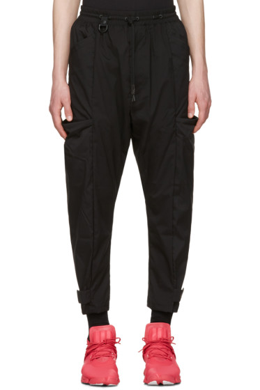 Y-3 - Black Minimalist NLN Trousers