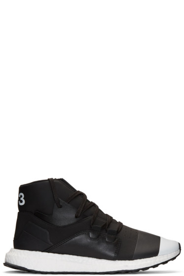 Y-3 - Black Kozoko High-Top Sneakers