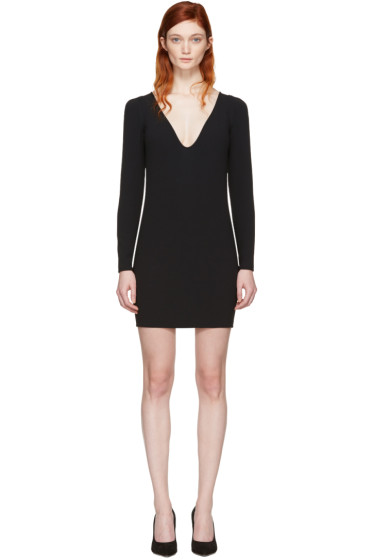 Dsquared2 - Black V-Neck Dress