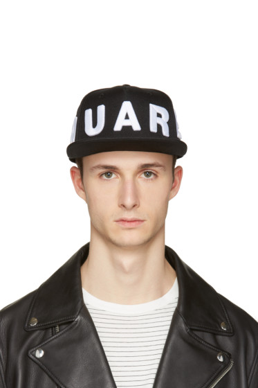 Dsquared2 - Black Embroidered Logo Cap