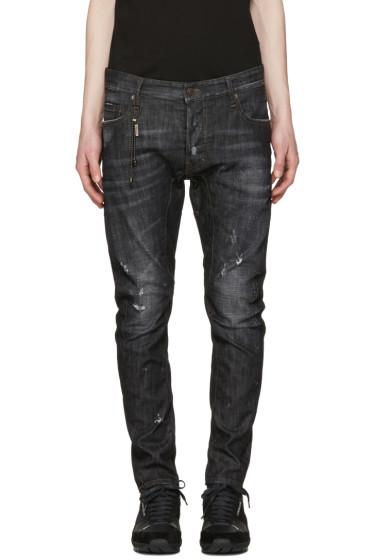Dsquared2 - Black Tidy Biker Jeans