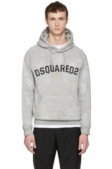 Dsquared2 - Grey Logo Hoodie