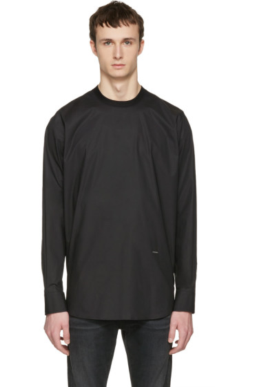 Dsquared2 - Black Poplin Shirt