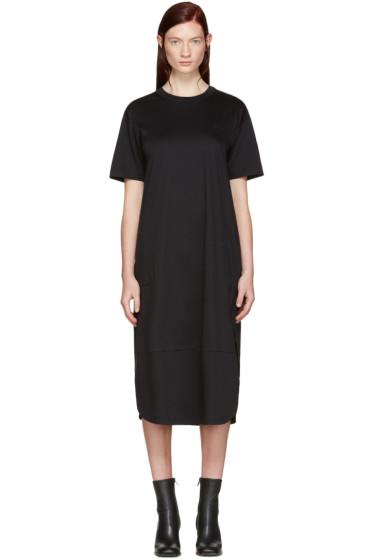 Helmut Lang - Black T-Shirt Dress