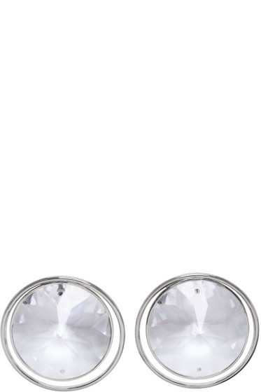 Maison Margiela - Silver Crystal Earrings