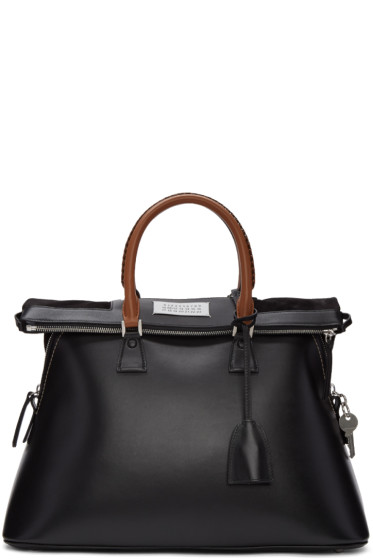 Maison Margiela - Black Large Top Handle Bag