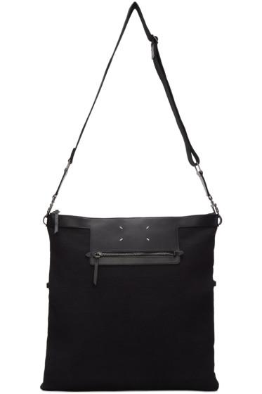 Maison Margiela - Black Canvas Messenger Bag