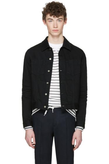 Maison Margiela - Black Denim Jacket