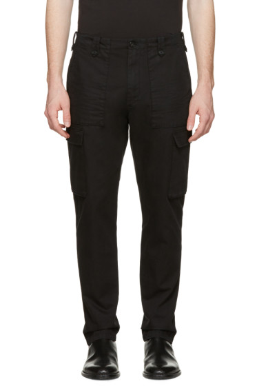 Maison Margiela - Black Cargo Trousers