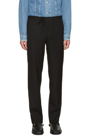 Maison Margiela - Black Drawstring Trousers