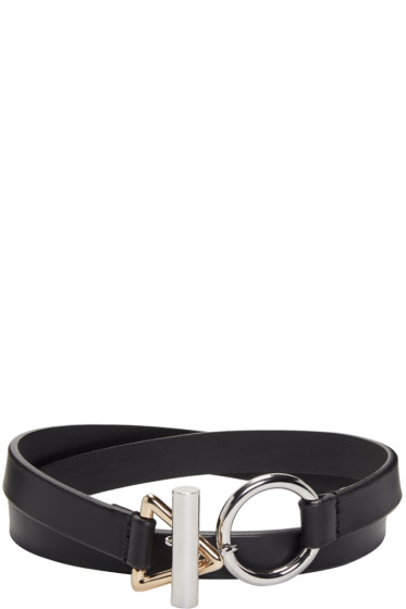 Alexander Wang - Black Double Wrap Choker